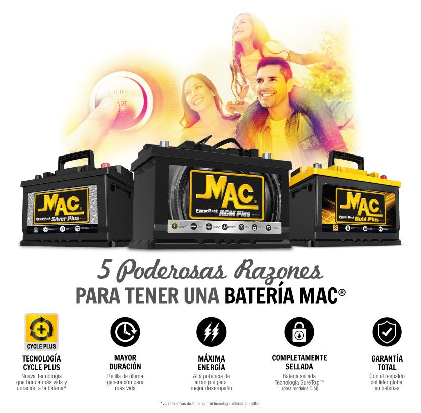 5 poderosas razones para tener una bateria Mac