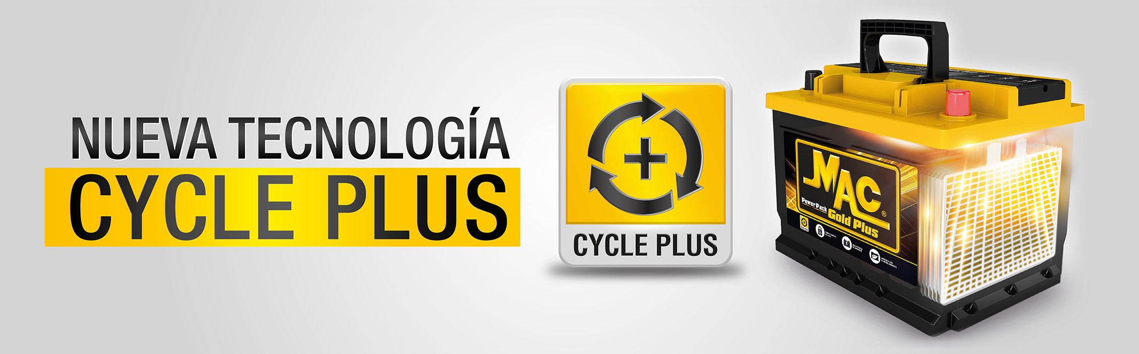 Nueva Technologia Cycle Plus - uno Gold Plus bateria
